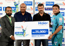 Yasim Murtaza was named Man of the Match for his 34-ball 64, Karachi Zebras v Rawalpindi Rams, Haier Cup National Twenty20, Karachi, September 21, 2014