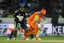 Asif Raza was clueless against this Sunil Narine delivery, Kolkata Knight Riders v Lahore Lions, Champions League T20, Hyderabad, September 21, 2014
