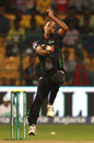 Craig Alexander leaked 14 from his first over, Chennai Super Kings v Dolphins, CLT20, Group A, Bangalore, September 22, 2014