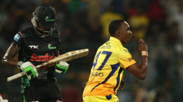 Dwayne Bravo signals the end of Cody Chetty