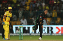 Daryn Smit delivers the ball, Chennai Super Kings v Dolphins, CLT20, Group A, Bangalore, September 22, 2014