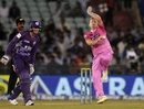 Scott Styris went for 12 in his first three overs and 16 in his fourth, Hobart Hurricanes v Northern Knights, CLT20, Group B, Raipur, September 23, 2014