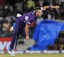 Joe Mennie began his spell with a wicket maiden, Hobart Hurricanes v Northern Knights, CLT20, Group B, Raipur, September 23, 2014