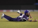 Ben Laughlin took a stunning catch at point, Hobart Hurricanes v Northern Knights, CLT20, Group B, Raipur, September 23, 2014