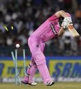 Daniel Flynn was bowled first ball, Hobart Hurricanes v Northern Knights, CLT20, Group B, Raipur, September 23, 2014