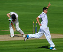 Chris Wood picked up four wickets, Glamorgan v Hampshire, County Championship, Division Two, Cardiff, September 24, 2014