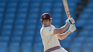 Nick Compton's hundred put Somerset in a strong position