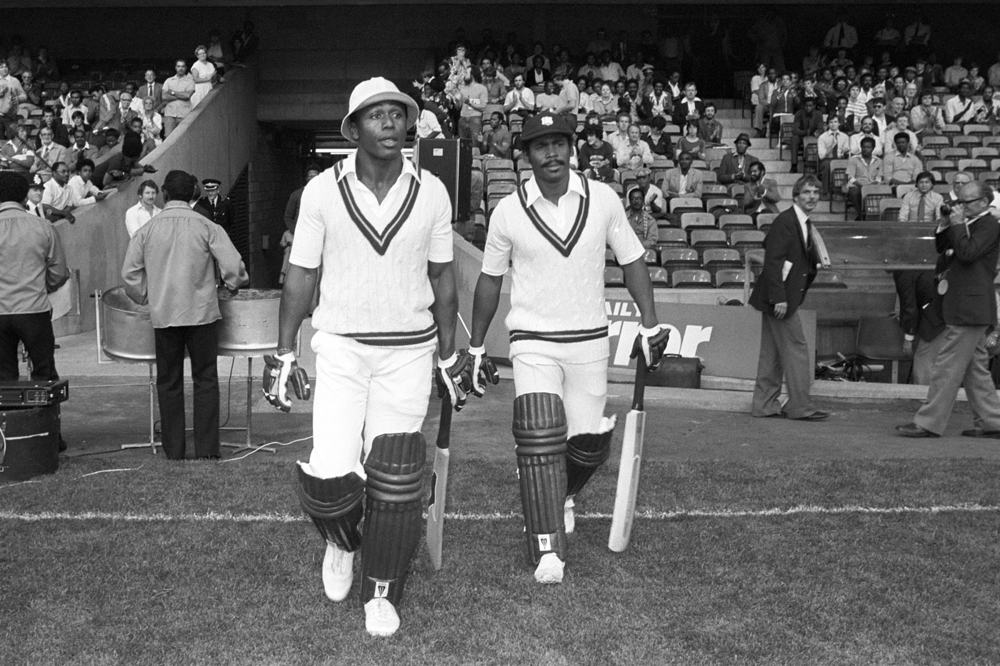 Greenidge, right, loses out to