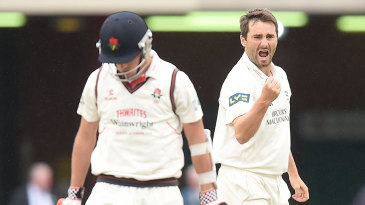 Tim Murtagh claimed two wickets on a tense third morning