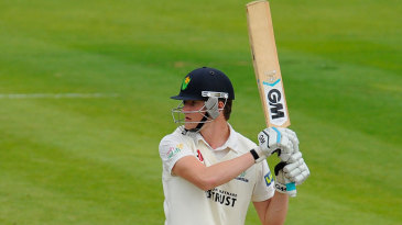 Aneurin Donald marked his first-class debut with 59