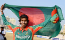 Panna Ghosh took five wickets to put Bangladesh in the final, Bangladesh v Sri Lanka, women's Twenty20, Asian Games semi-final, Incheon, September 25, 2014