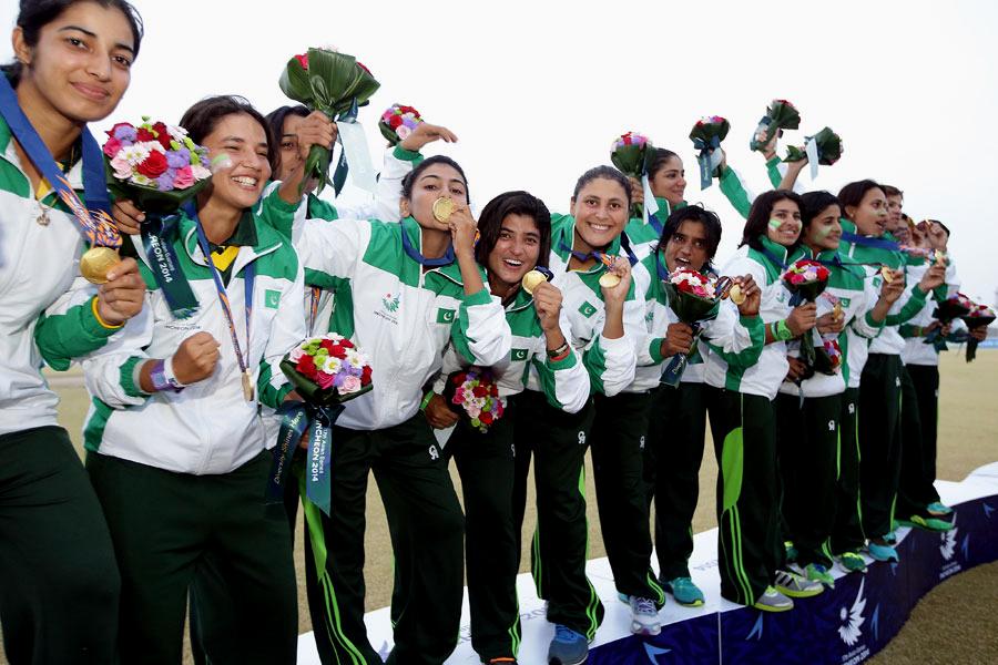 The golden girls: Pakistan Women have won two Asian Games cricket titles under Mir