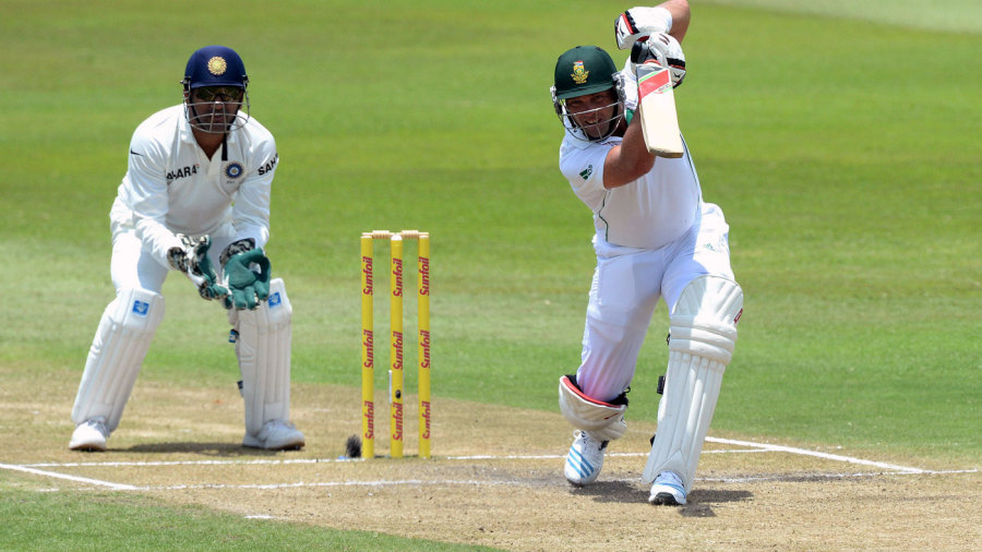 Jacques Kallis drives for four