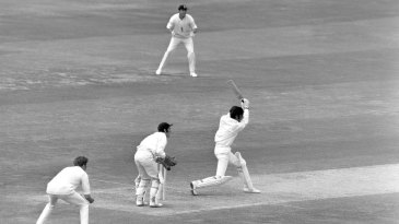 Zaheer Abbas: renowned for being an elegant stroke-maker