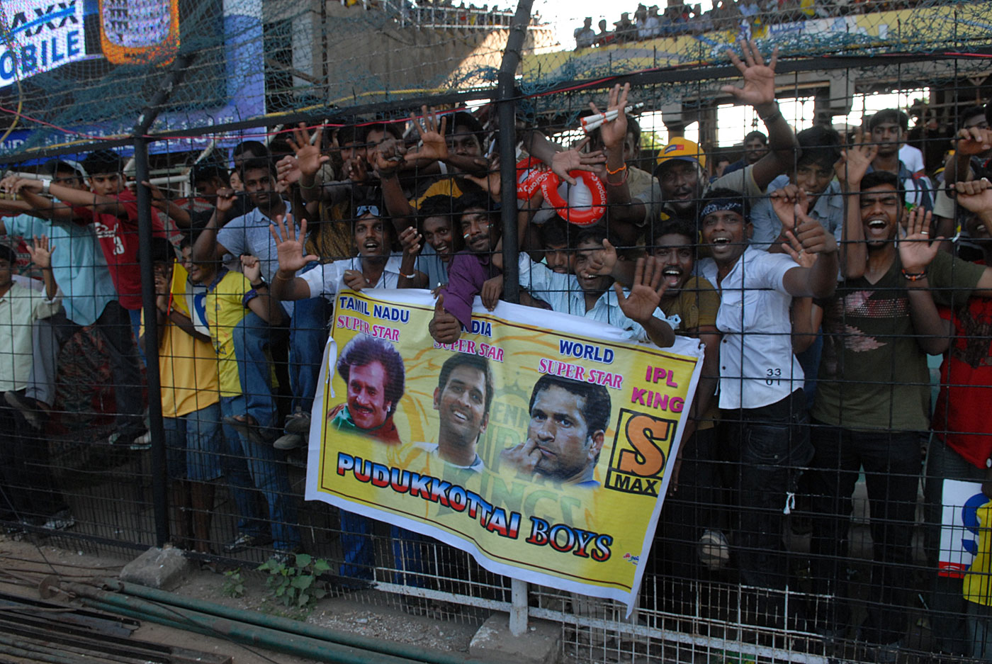 Favourite son: Chennai have claimed MS Dhoni as one of their own