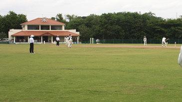 A Buchi Babu semi-final at the Murugappa Cricket Ground in Avadi