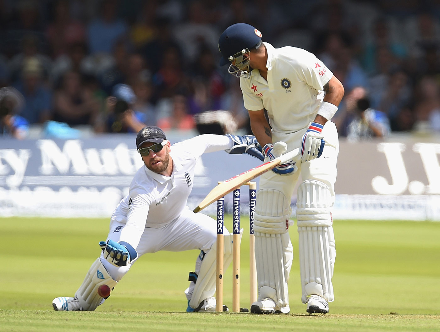 Negative impact: if you rated him on net contribution, it could be said that Matt Prior was responsible for England's loss at Lord's to India