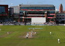 The final day of the season unfolds under autumn sun at Old Trafford, Lancashire v Middlesex, County Championship, Division One, Old Trafford, September 26, 2014