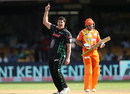 Robbie Frylinck celebrates dismissing Nasir Jamshed, Dolphins v Lahore Lions, Champions League T20, Bangalore, September 27, 2014