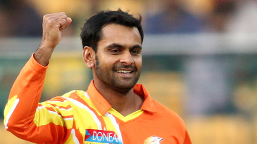 Mohammad Hafeez claimed 2 for 18