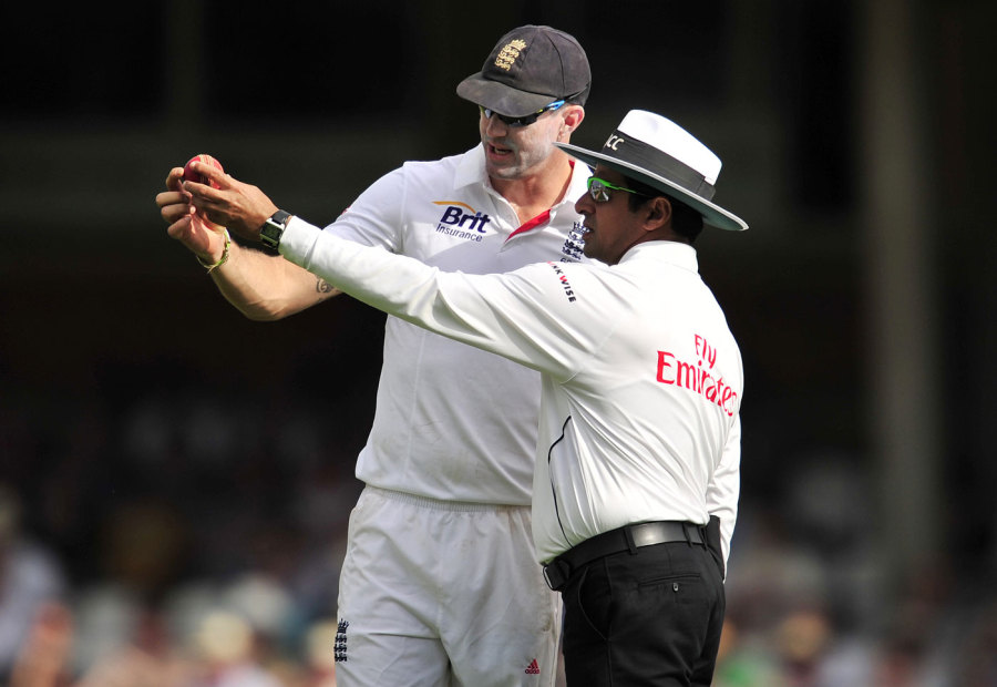 Aleem Dar is one of two umpires from the subcontinent on the Elite Panel