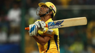 MS Dhoni powered his way to 35 off 16