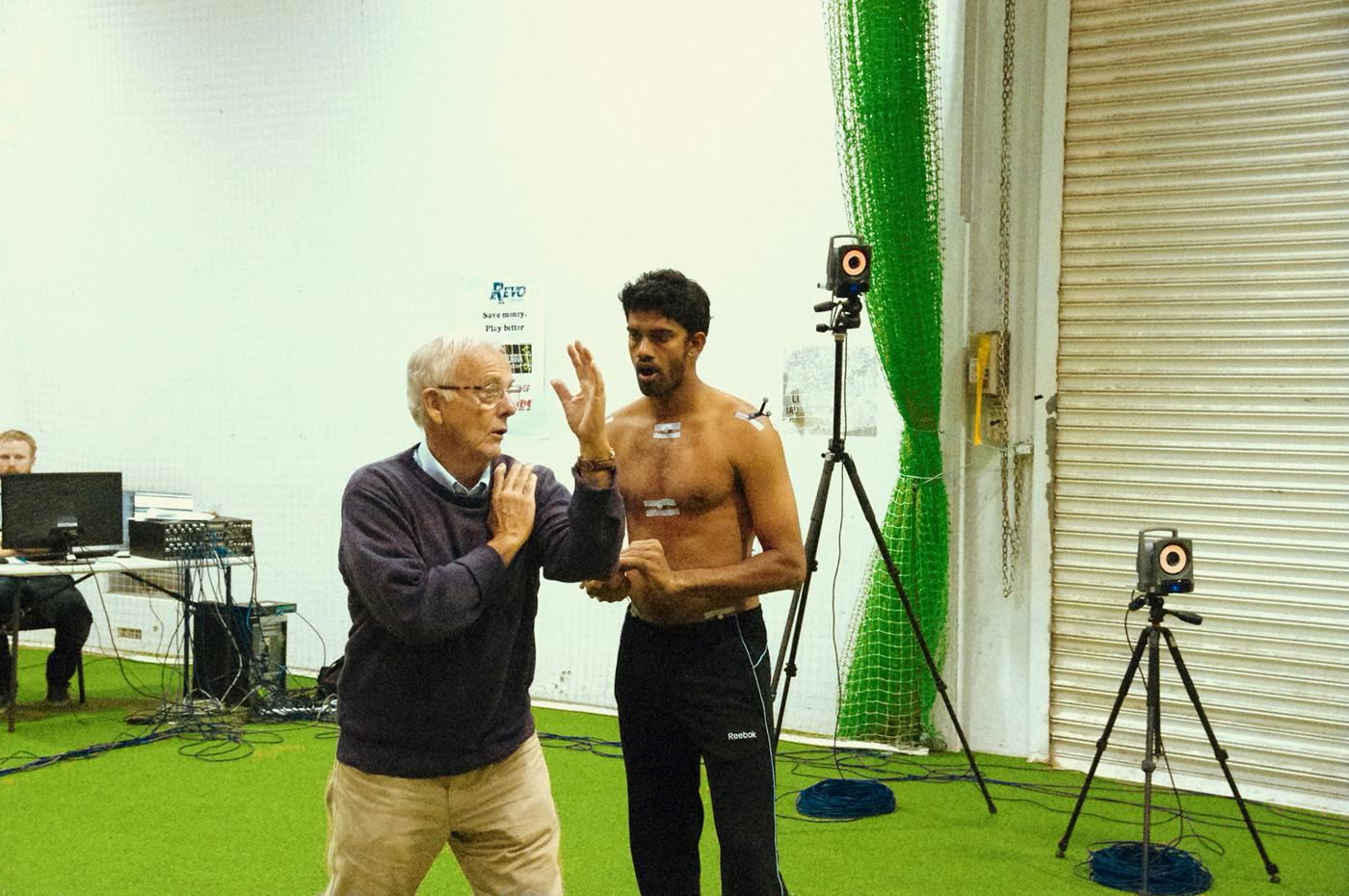 Daryl Foster works with Sachithra Senanayake
