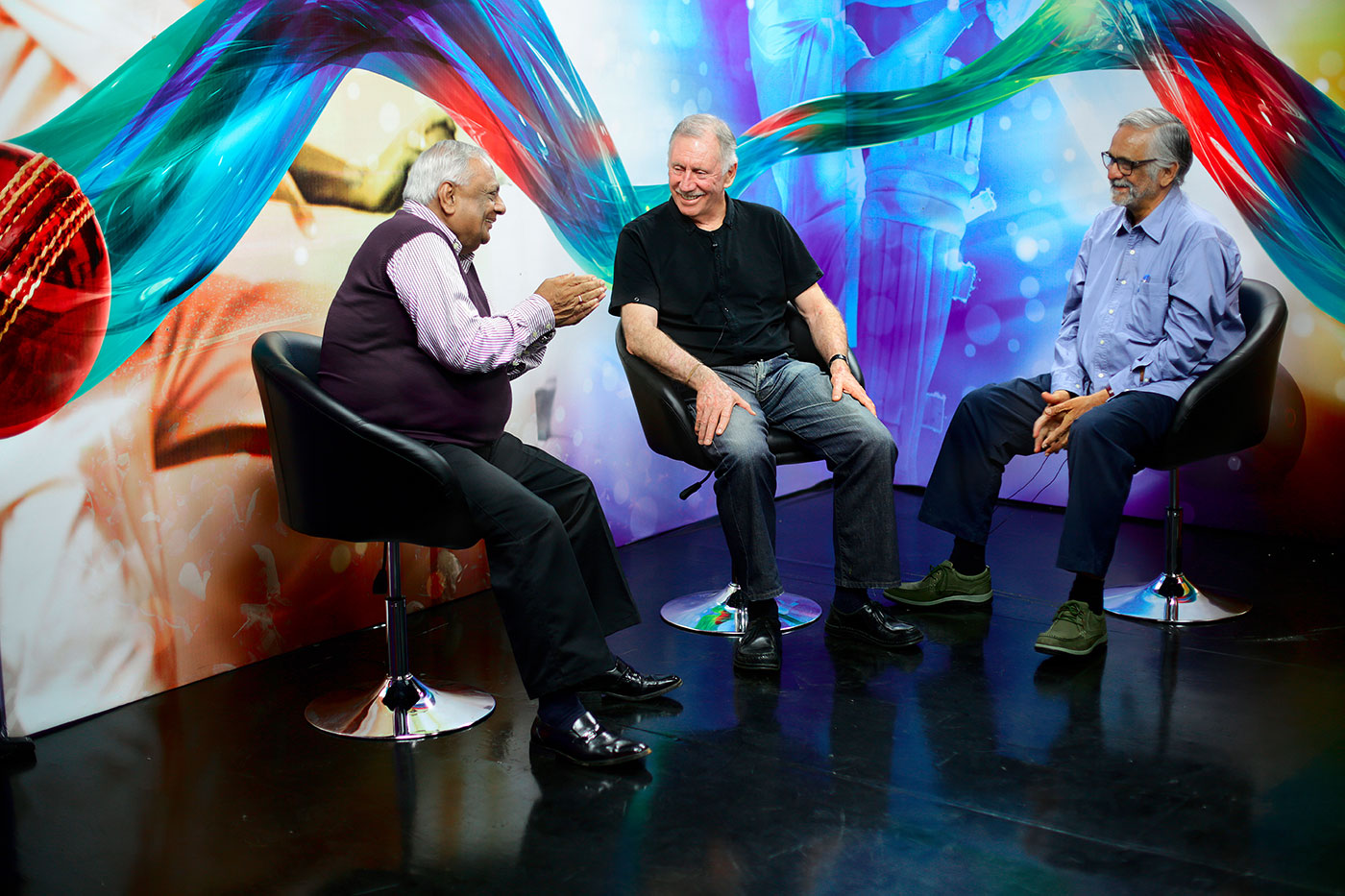 Erapalli Prasanna, Ian Chappell and V Ramnarayan discuss