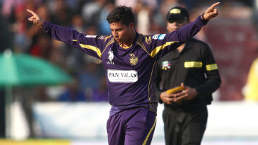 Kuldeep Yadav picked up the crucial wicket of Ben Dunk