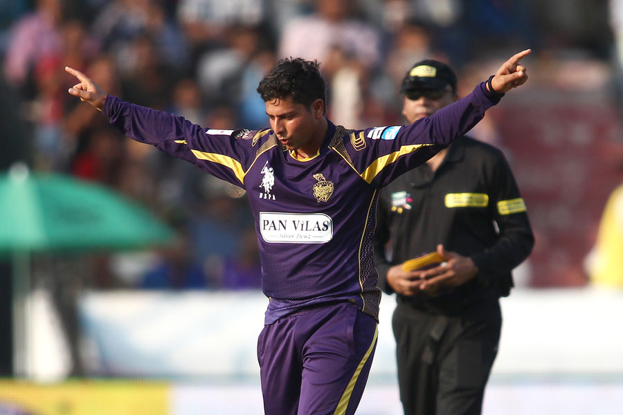 Kuldeep Yadav: from Mumbai Indians to Knight Riders to the national side (briefly)