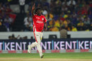 Parvinder Awana struck twice in his opening spell, Kings XI Punjab v Chennai Super Kings, 2nd semi-final, CLT20, Hyderabad, October 2, 2014