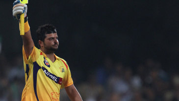 Suresh Raina's hundred powered Chennai Super Kings to their second Champions League title