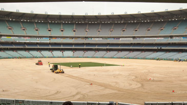 The Melbourne Cricket Ground is in the midst of getting a facelift