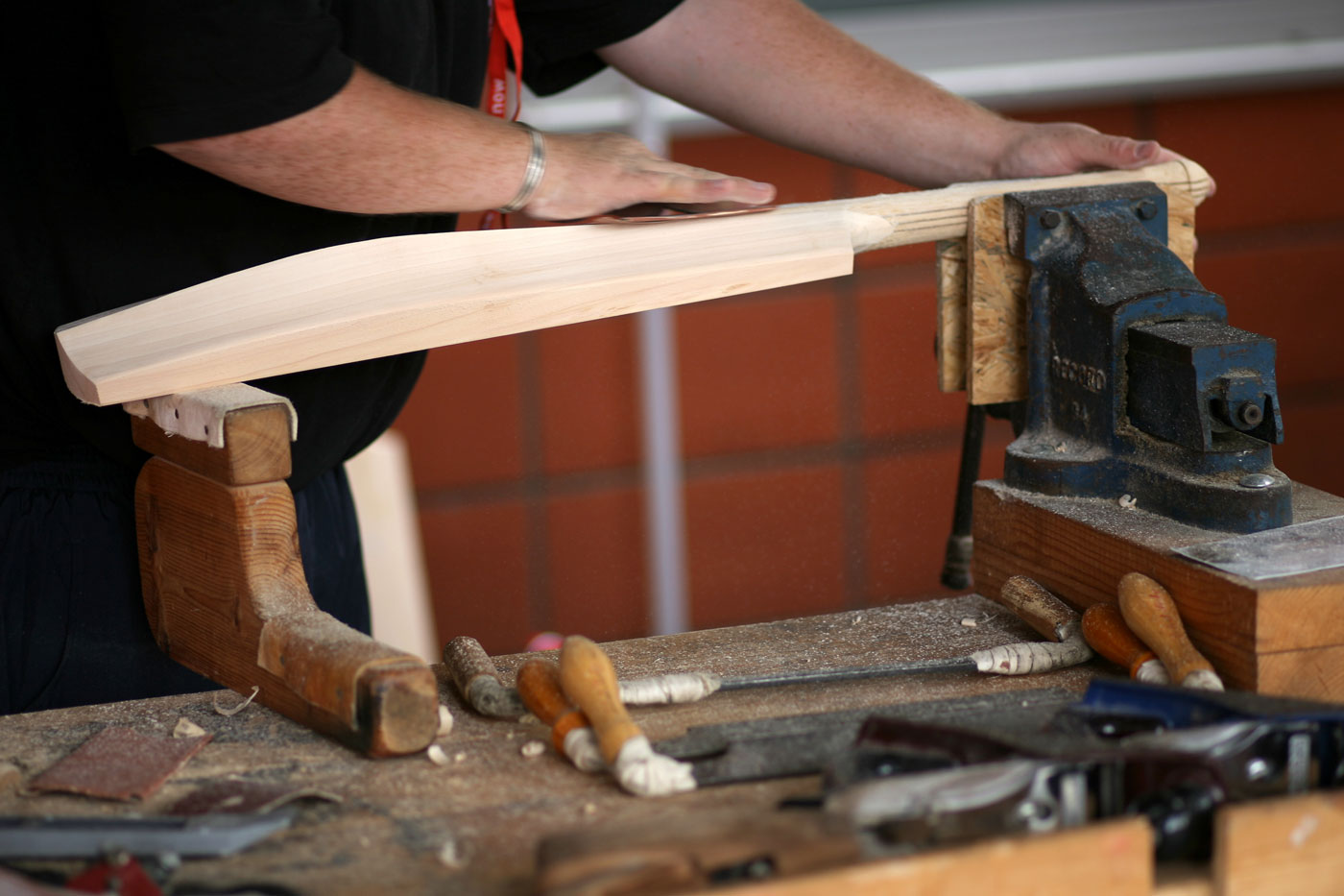 Image result for cricket bats production