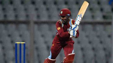 Denesh Ramdin struck 13 boundaries during his hundred