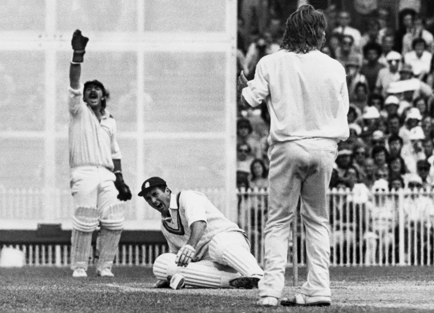 The slinger from hell: Jeff Thomson was the consensus candidate for the most feared fast bowler of his era