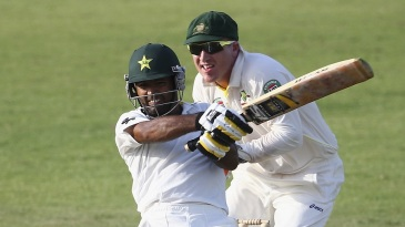 Asad Shafiq struck a breezy century