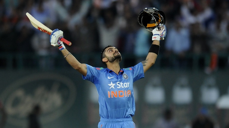 Virat Kohli was a relieved man after his 20th century