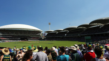 A general view of the Adelaide Oval