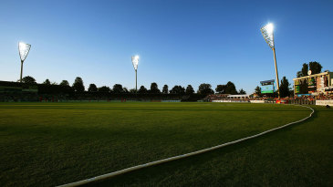 A general view of the Manuka Oval
