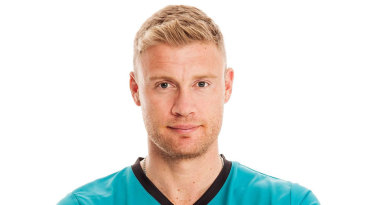 Andrew Flintoff signed with Brisbane Heat for the 2014-15 Big Bash League