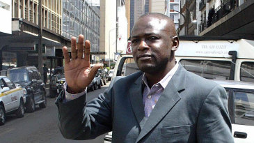 Maurice Odumbe arrives for his hearing at a Nairobi hotel