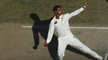 Mohammad Hafeez opened the bowling for Pakistan