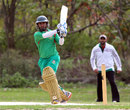 Mohammad Ashraful playing in an unaffiliated cricket tournament in New York, New York, October 23, 2014