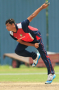 Saad Janjua finished with 4 for 25, Singapore v Uganda, ICC WCL Division Three, Kuala Lumpur, October 24, 2014