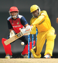 Roger Mukasa scored 37 and took two wickets, Singapore v Uganda, ICC WCL Division Three, Kuala Lumpur, October 24, 2014
