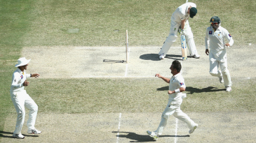 PAK vs AUS Day 3 Highlights 1st Test 2014
