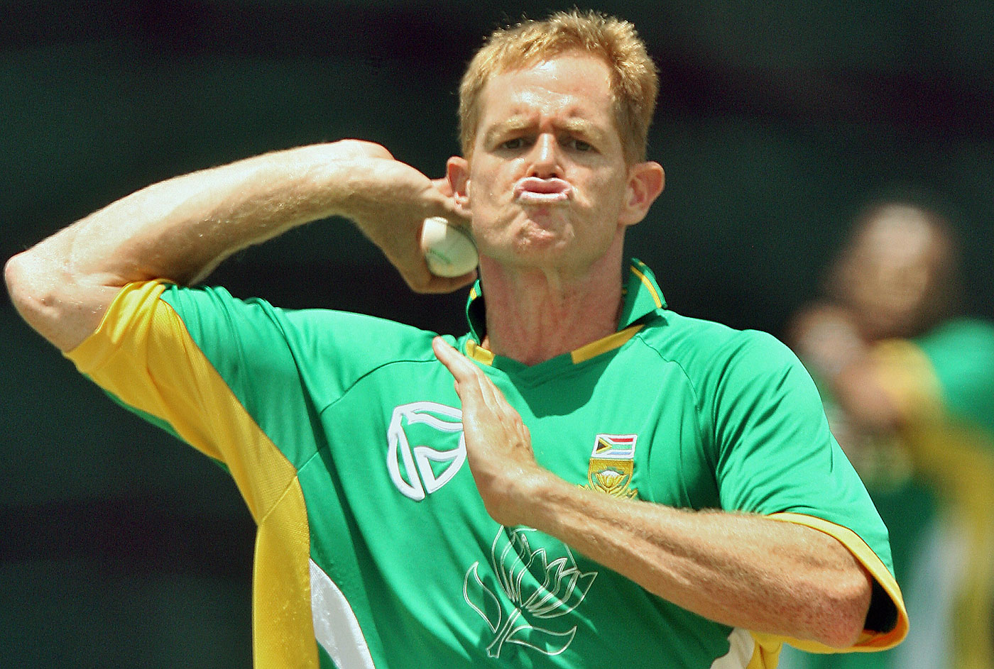 Shaun Pollock was the first South African to 400 Test wickets © AFP