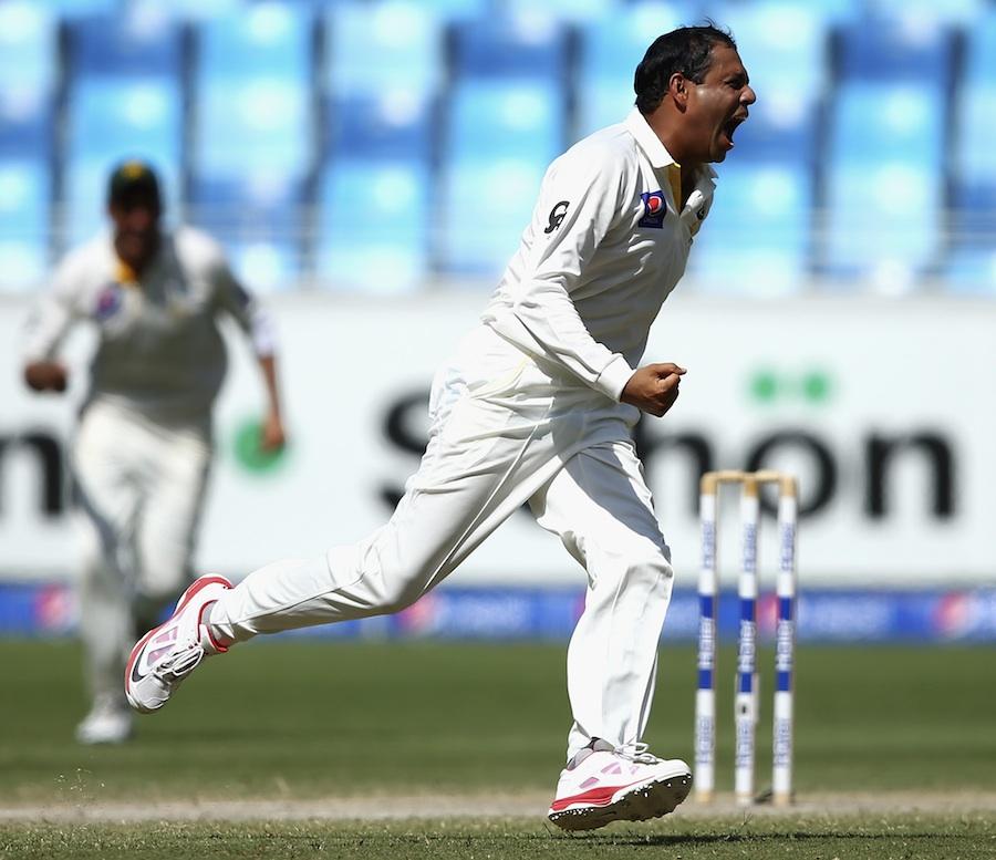 Zulfiqar Babar bowls superb spell for WAPDA in the Quaid-e-Azam Trophy