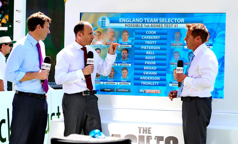 Nasser Hussain: perspective, wit, and takes no prisoners